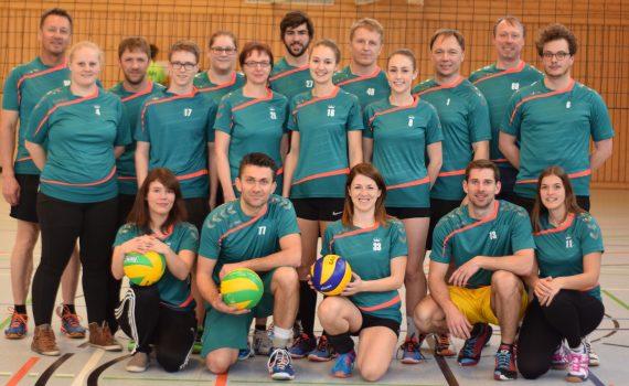 Volleyballer TSV Velden 2017