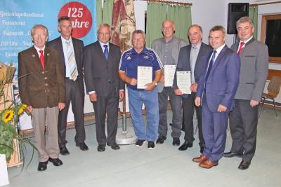 Festabend TSV Velden - Auszeichnung Ehrenmitglieder